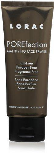 LORAC POREfection Mattifying Face Primer, 1.7 Fl Oz (Packaging May Vary)