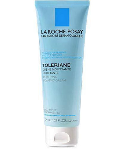 La Roche-Posay Toleriane Purifying Foaming Cream Cleanser, 4.22 Fl oz.