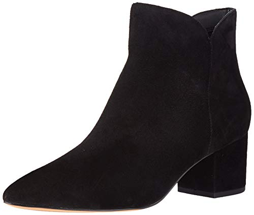 Cole Haan Women's Elyse Bootie (60Mm) Ankle Boot, Black Suede, 8 B US