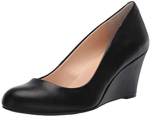 Jessica Simpson womens Suzanna Pump, Black Sleek, 5.5 US