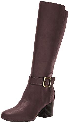 Aerosoles Women's Patience Knee High Boot, Dark Brown Combo, 7 M US