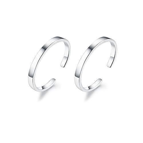 Izpack Minimalist Cuff Clip On 925 Sterling Silver Small Hoop Earrings for Women Teen Girls Cartilage Fashion Wrap No Piercing Ear Hypoallergenic