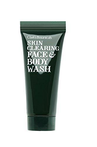 Clark's Botanicals Skin Clearing Face and Body Wash, 7.4 Fl Oz