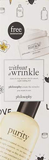 philosophy without a wrinkle purity and anti-wrinkle miracle worker set, 8.62 oz
