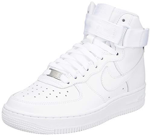 Nike Women's Basketball Shoes, White White 105, 8.5 UK - PRTYA