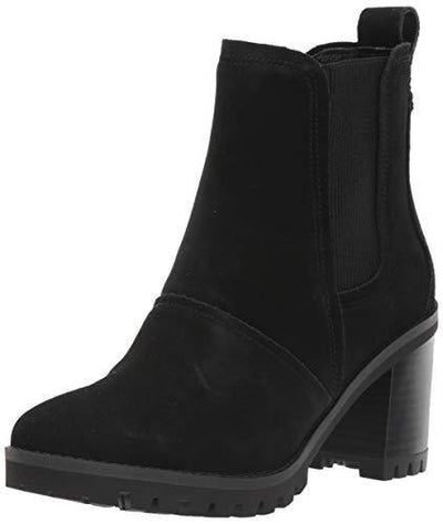UGG Women's Hazel Chelsea Boot, Black, 8.5 M US
