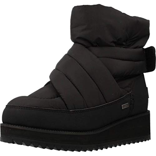 UGG Womens Montara Boot, Black, Size 7.5