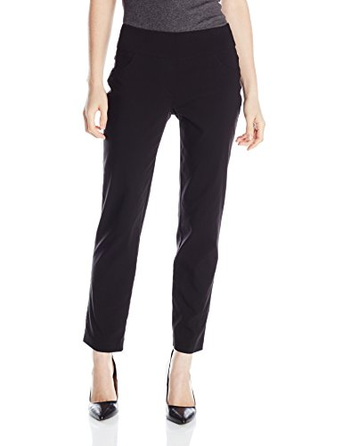 Ruby Rd. Women's Pull-On Solar Millennium Super Stretch Pant, Black, 14