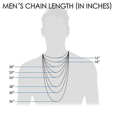 18K Solid Gold 1.8MM, 2.5MM, 3MM, 3.8MM, 4.5MM, 5.5MM, 7MM Cuban Curb Link Chain Necklace- Made In Italy (24, 4.5mm, Yellow)