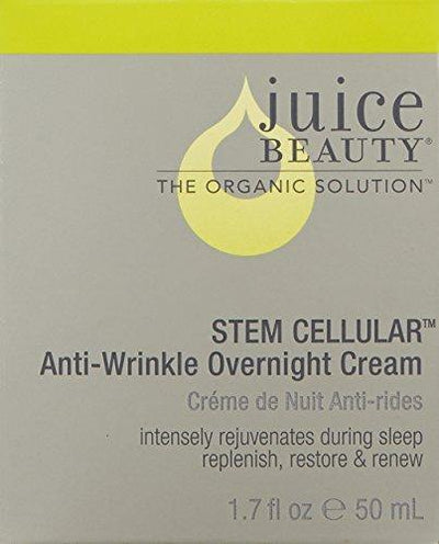 Juice Beauty Stem Cellular Anti-Wrinkle Overnight Cream, 1.7 Fl Oz