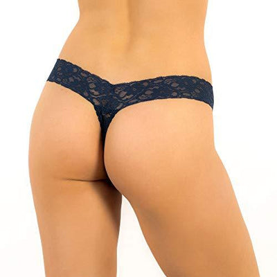 Alyce Ives Intimates Womens Lace Thong, Pack of 10 - PRTYA