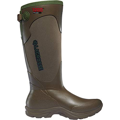 "Lacrosse Women's 302445 Alpha Agility 15"" Waterproof 1200G Hunting Boot, Brown - 9 D"