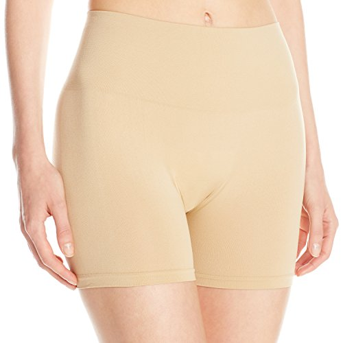 No Nonsense Women's Seamless Slip Short, Nude, Small