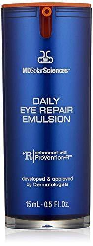 MDSolarSciences Daily Eye Repair Emulsion | Collagen Peptides + Antioxidants Help Repair, Soothe, and Restore Skin's Firmness & Elasticity | 0.5 Oz