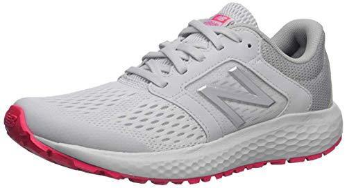 New Balance Women's 520 V5 Running Shoe, Summer Fog/Guava/Team Away Grey, 9 W US