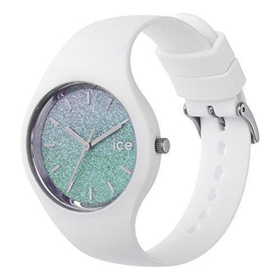 Ice-Watch - ICE lo White Turquoise - Women's Wristwatch with Silicon Strap - 013430