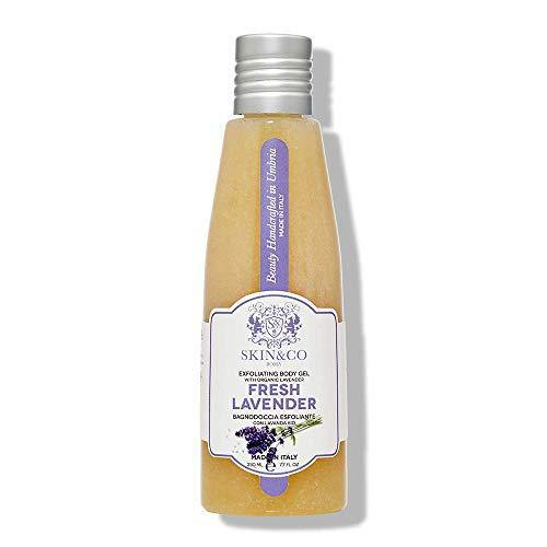 SKIN&CO Roma Fresh Lavender Exfoliating Gel, 7.7 Fl Oz