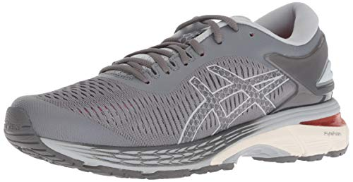 ASICS Women's Gel-Kayano 25 Running Shoes, 8.5M, Carbon/MID Grey - PRTYA