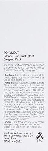 TONYMOLY Intense Care Dual Effect Sleeping Pack