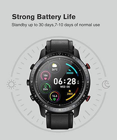 SANAG Smart Watch,Watches for iOS Android Phones Fitness Tracker Step Counter Calorie