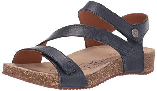 Josef Seibel Women's Tonga 25 Sandal, Jeans, 36 Medium EU (5-5.5 US) - PRTYA