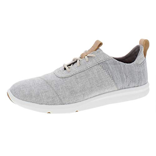 TOMS Women's The Cabrillo Sneaker Drizzle Grey Chambray Mix 9
