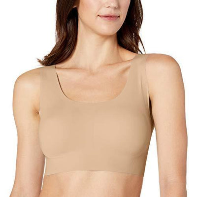 Bali Women's Comfort Revolution EasyLite Seamless Wireless Bra, Nude, X Large - PRTYA