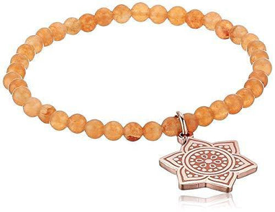 Alex and Ani Chakra Stretch Bracelet Rose Gold/Sacral Chakra One Size