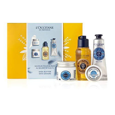 L'Occitane Shea Butter Skin Saviors Discovery Kit, Limited Edition