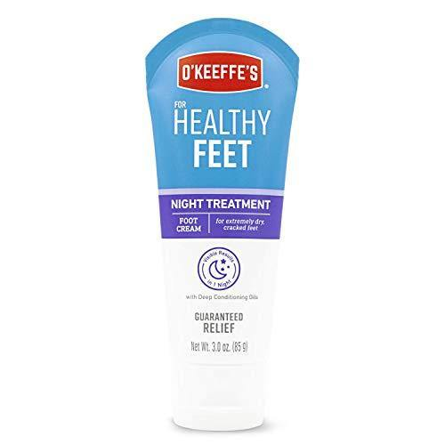 O'Keeffe's Healthy Feet Night Treatment Foot Cream, 3.0 Ounce Tube, (Pack of 1)