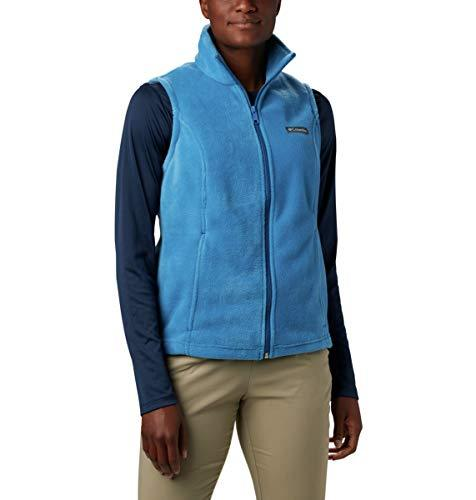 Columbia Women's Benton Springs, Soft Fleece Vest, Classic Fit, Dark Pool, Medium - PRTYA
