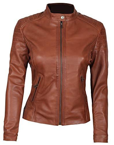 Blingsoul Outdoor Womens Leather Jacket | [1300952] Carrie, S - PRTYA