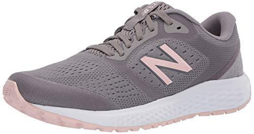New Balance Women's 520 V6 Running Shoe, Marblehead/Peach Soda/Black, 9 M US