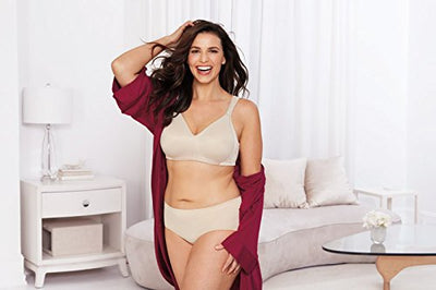 Playtex Women's 18 Hour Seamless Smoothing Bra #4049,Nude,36C