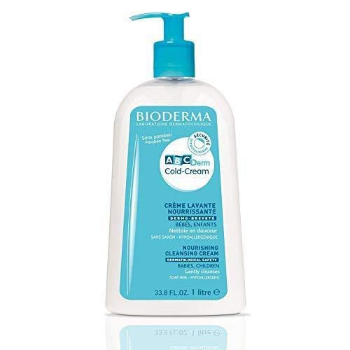 Bioderma - ABCDerm - Cold Cream - Cleansing Cream - Gentle Moisturizing Body Wash - for Babies and Kids