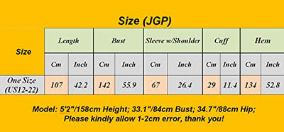 YESNO JGP Women Long Loose Fit Sweatshirt Dress Ombre Ethnic Printed 4/5 Sleeve Side Slit with Pockets Tunic Pullover