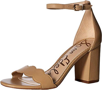Sam Edelman Women's Odila Heeled Sandal, Soft Beige, 7.5 Medium US