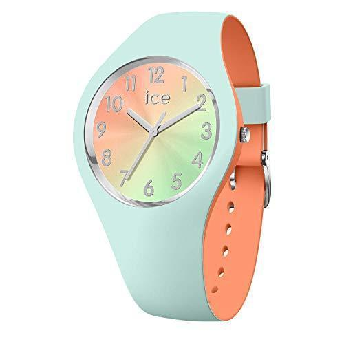 Ice-Watch - ICE duo chic Aqua coral - Women's wristwatch with silicon strap - 016981