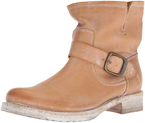Frye Women's Veronica Bootie Ankle Boot, tan, 6.5 M US