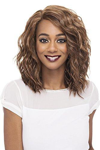 Vivica A Fox Hair Collection Finn - Natural Baby Lace Front Wig, New Futura Hair In Color, 1B, 4.7 Ounce