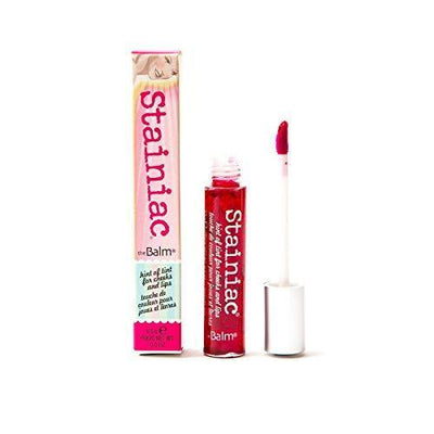 Stainiac Lip & Cheek Stain, Aloe-Infused Formula, Multi-Use, Buildable, Pigmented