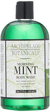 Archipelago Botanicals Morning Mint Body Wash ,17 Fl Oz