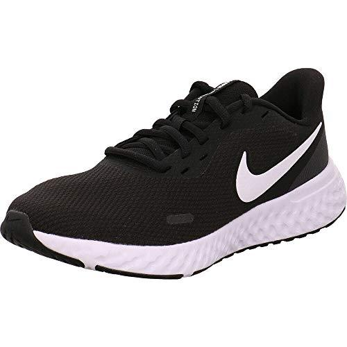 Nike Women's Revolution 5 Running Shoe, Black/White-Anthracite, 8 Regular US