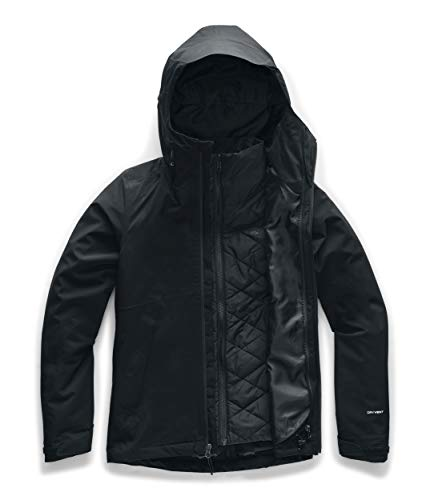 The North Face Women's Carto Triclimate Jacket, TNF Black, Small