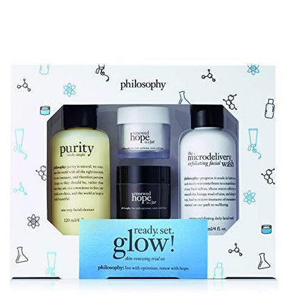 philosophy renewed hope ready. set. glow! set, 10 oz