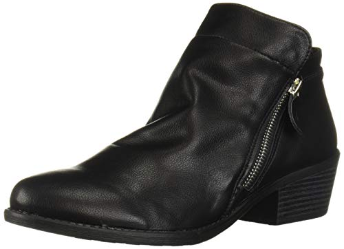 Easy Street Women's Gusto Comfort Bootie Ankle Boot, Black, 8.5 W US