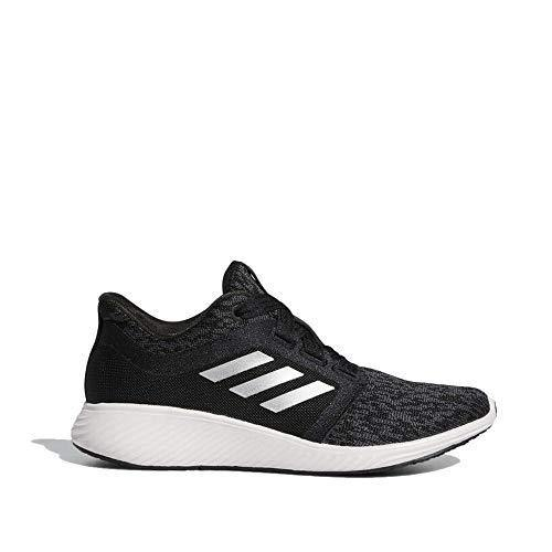 adidas Women's Edge Lux 3 Running Shoe, Black/Silver/Orchid Tint 6 M US