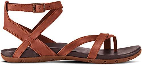 Chaco Women's Juniper Sandal, Rust, 8 Medium US - PRTYA