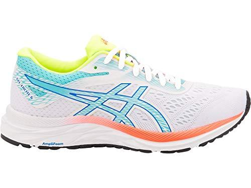 ASICS Women's Gel-Excite 6 SP Running Shoes, 9M, White/ICE Mint - PRTYA