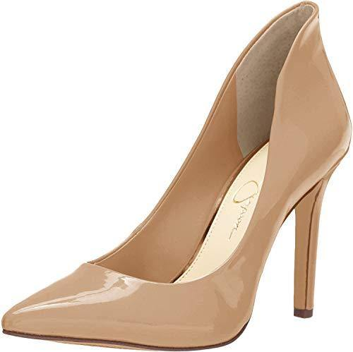 Jessica Simpson Women's Cambredge Pump, chai Latte, 8